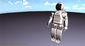 Sketchup Export Collada dae robot model