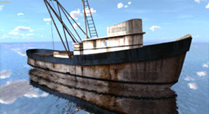 3ds Max Ship Export Collada dae