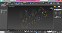3dsMax-Export-Animation-with-path-constraint-to-COLLADA-Preview
