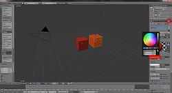 Blender-Tutorial3-Export-Multiple-Materials-COLLADA-Preview