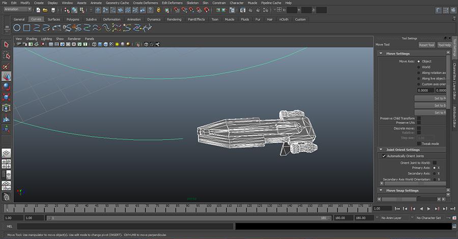 Maya-Import-3D-Model