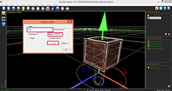 Vanda-Engine-Create-Dynamic-Prefab-PhysX-Preview
