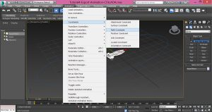 3dsMax-Export-Animation-with-path-constraint-to-COLLADA-3