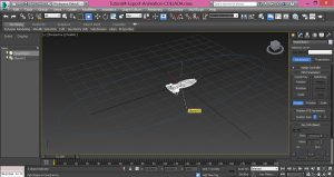 3dsMax-Export-Animation-with-path-constraint-to-COLLADA-4