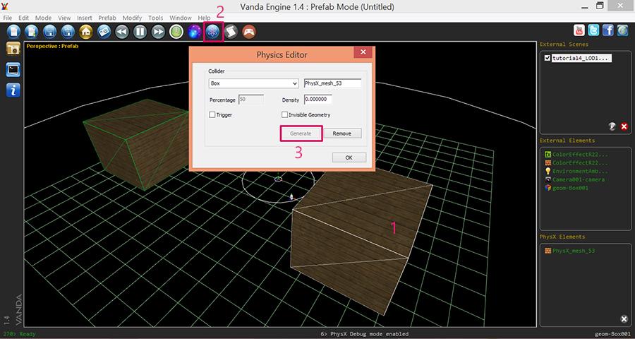 Vanda-Engine-Object-Instance-PhysX