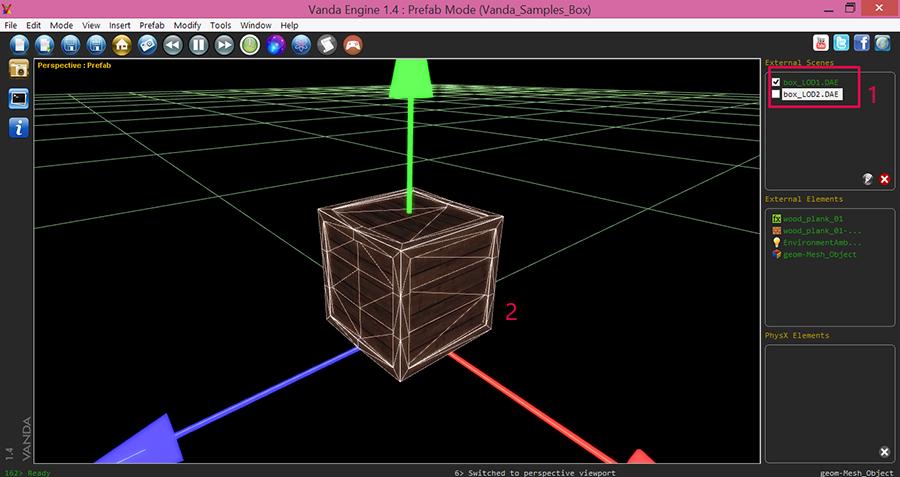Vanda-Engine-Create-Dynamic-Prefab-PhysX-Box-Model