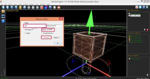 Vanda-Engine-Create-Dynamic-Prefab-PhysX-Image2