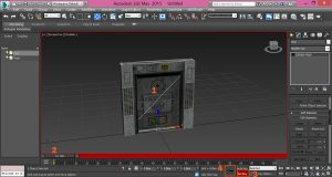 3ds-Max-Animate-Door-Export-Collada-Set-Keyfram-Image6