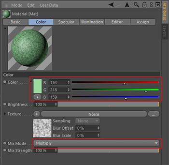 Cinema-4D-Material-Mutiply-Mix-Mode