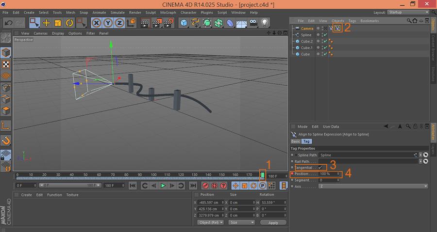 Cinema4D-C4D-Set-End-Keyframe