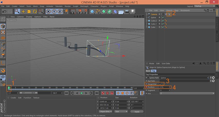 Cinema4D-C4D-Set-First-Keyframe