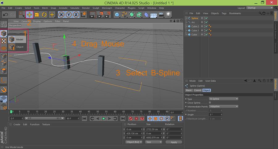 Cinema4D-C4D-move-bspline